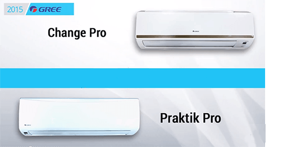 Change Pro и Praktik Pro - новинки 2015 года от Gree