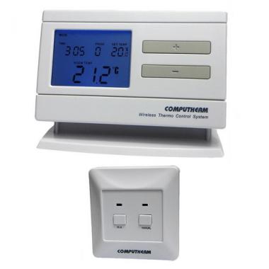 Программируемый беспроводной термостат Computherm Q7 RF (для котла)